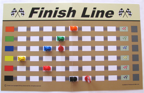 Finish Line Cards